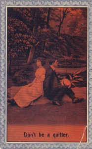 Postcard from W.L.S. to Miss Josephine Allen, Harpswell Center, Maine, Postmarked September 9, 1912, 3:30pm