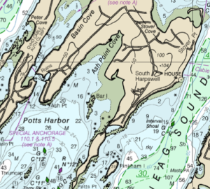 Potts Harbor, Casco Bay